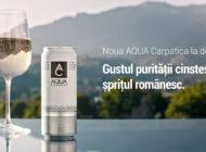 AQUA Carpatica, membră Valvis Holding, lansează cu mândrie prima doza de apa minerală românească
